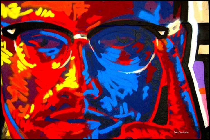 Portrait of Malcolm X