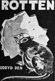 Nazi Propaganda that depicts Jews as Rats