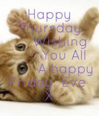 Happy Friday Eve