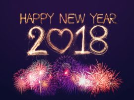 Happy New Year 2018 HD WhatsApp Status Images & Text Status