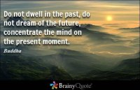 dwell on the past