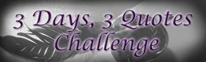 3-Days-3-Quotes-Challenge