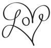 My signature heart