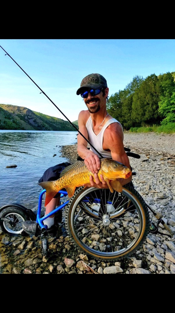 My Big Carp I caught at the Oneida Res.