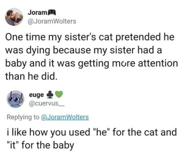 it for the baby