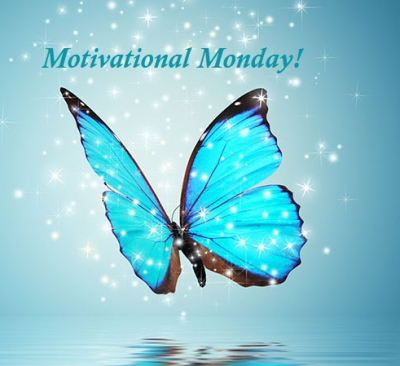 Motivational Monday Butterfly teal