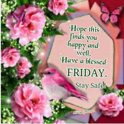 331614-Hope-This-Finds-You-Happy-And-Well.-Have-A-Blessed-Friday.-Stay-Safe