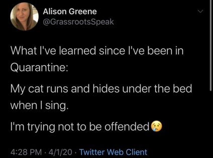offended